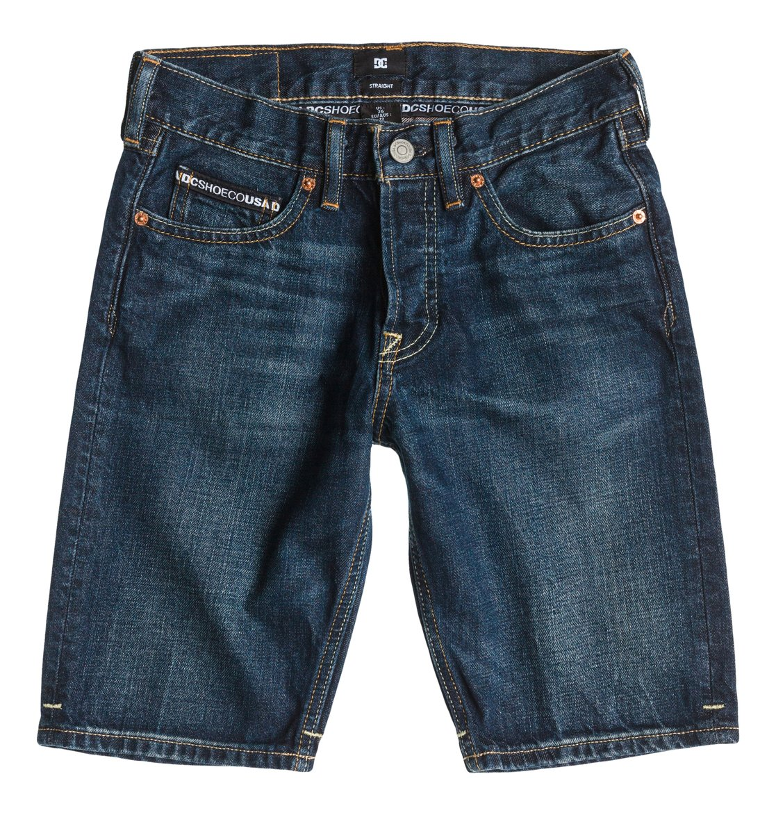 Worker Straight Denim Shorts Light St Boy от DC Shoes