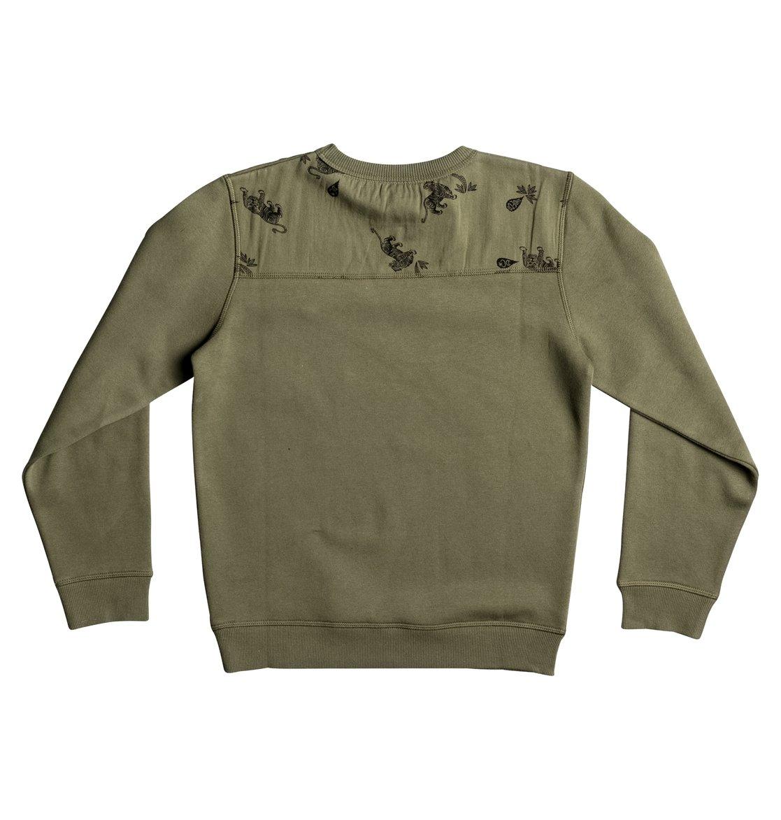 Sweat Shirt Dc Shoes Vert
