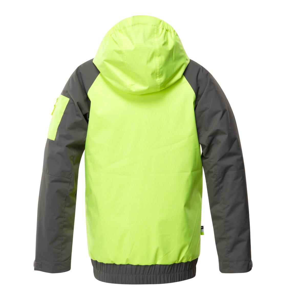 2d481de8c 2 Boy's Troop Snow Jacket Yellow EDBTJ00008 DC Shoes