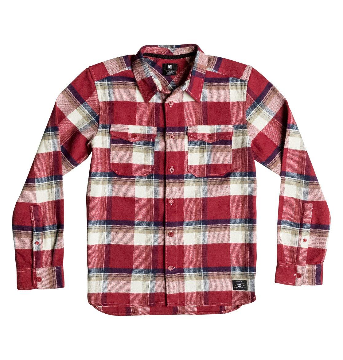 Рубашка Marsha Flannel с длинным рукавом рубашка в клетку dc shoes marsha marsha chili pepper