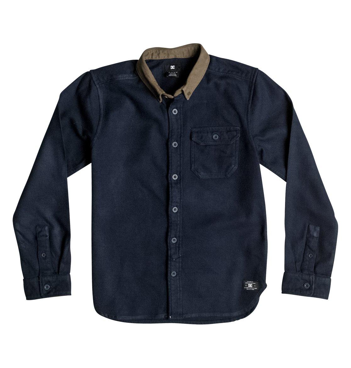 Dcshoes Рубашка Wallingstone Flannel с длинным рукавом