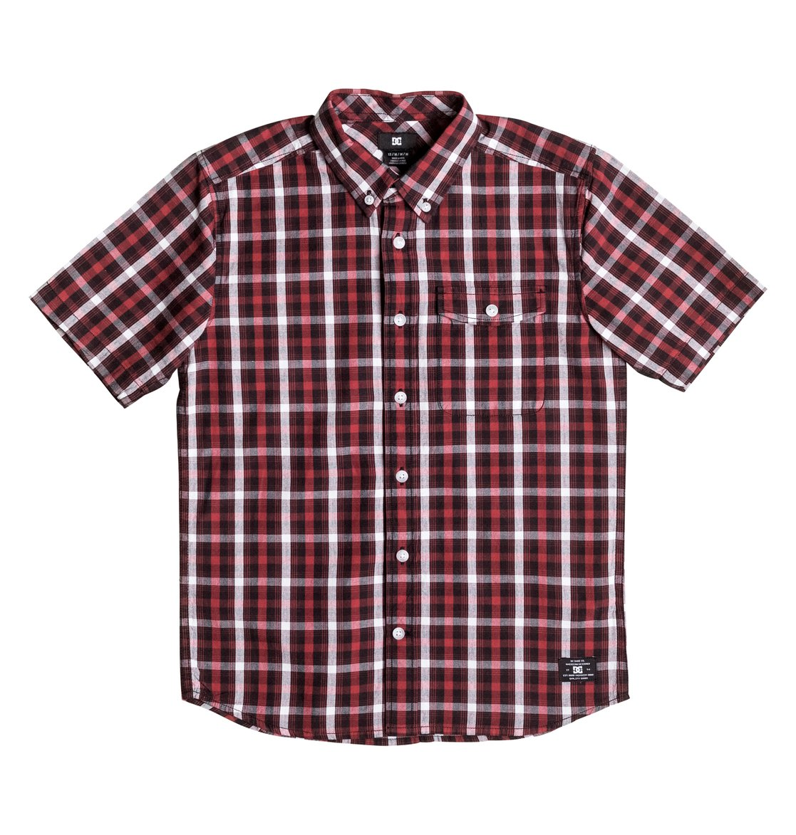 Рубашка с коротким рукавом Atura 4 рубашка в клетку dc atura 3 atura varsity blue