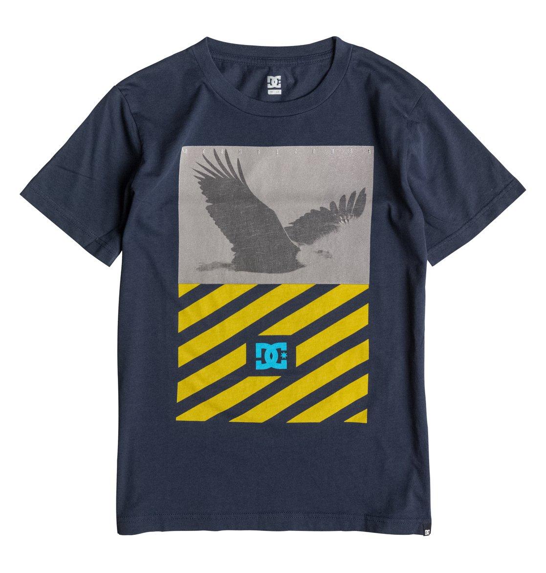 Skyview T-ShirtДетская футболка Skyview от DC Shoes. <br>ХАРАКТЕРИСТИКИ: короткие рукава, стандартный крой, мягкий графический принт. <br>СОСТАВ: 100% хлопок.<br>