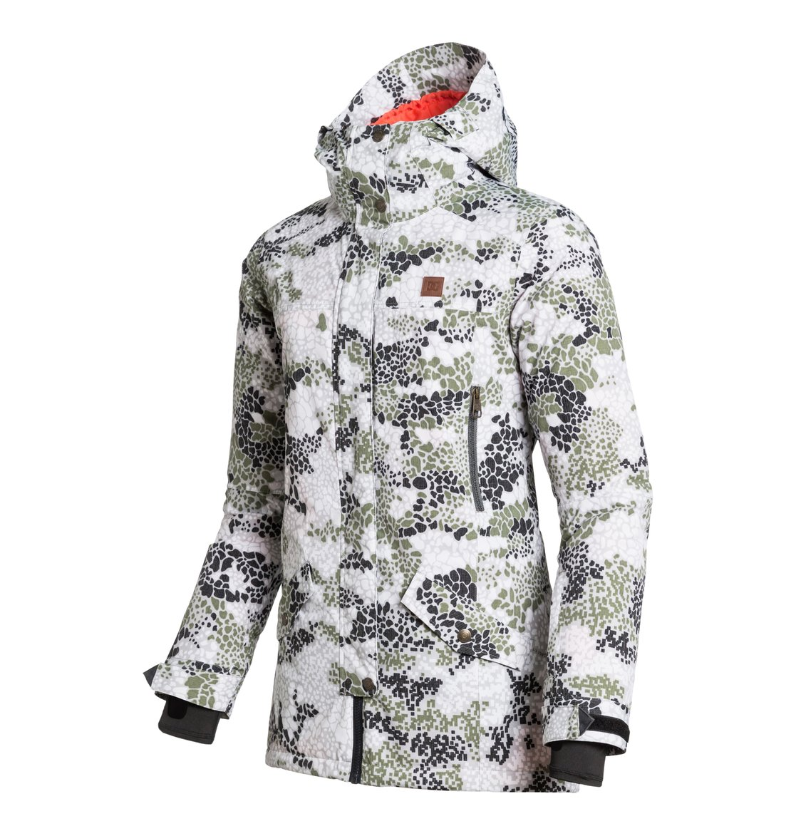 Dc Shoes Women S Snow Jacket Nature Snow Jacket Edjtj