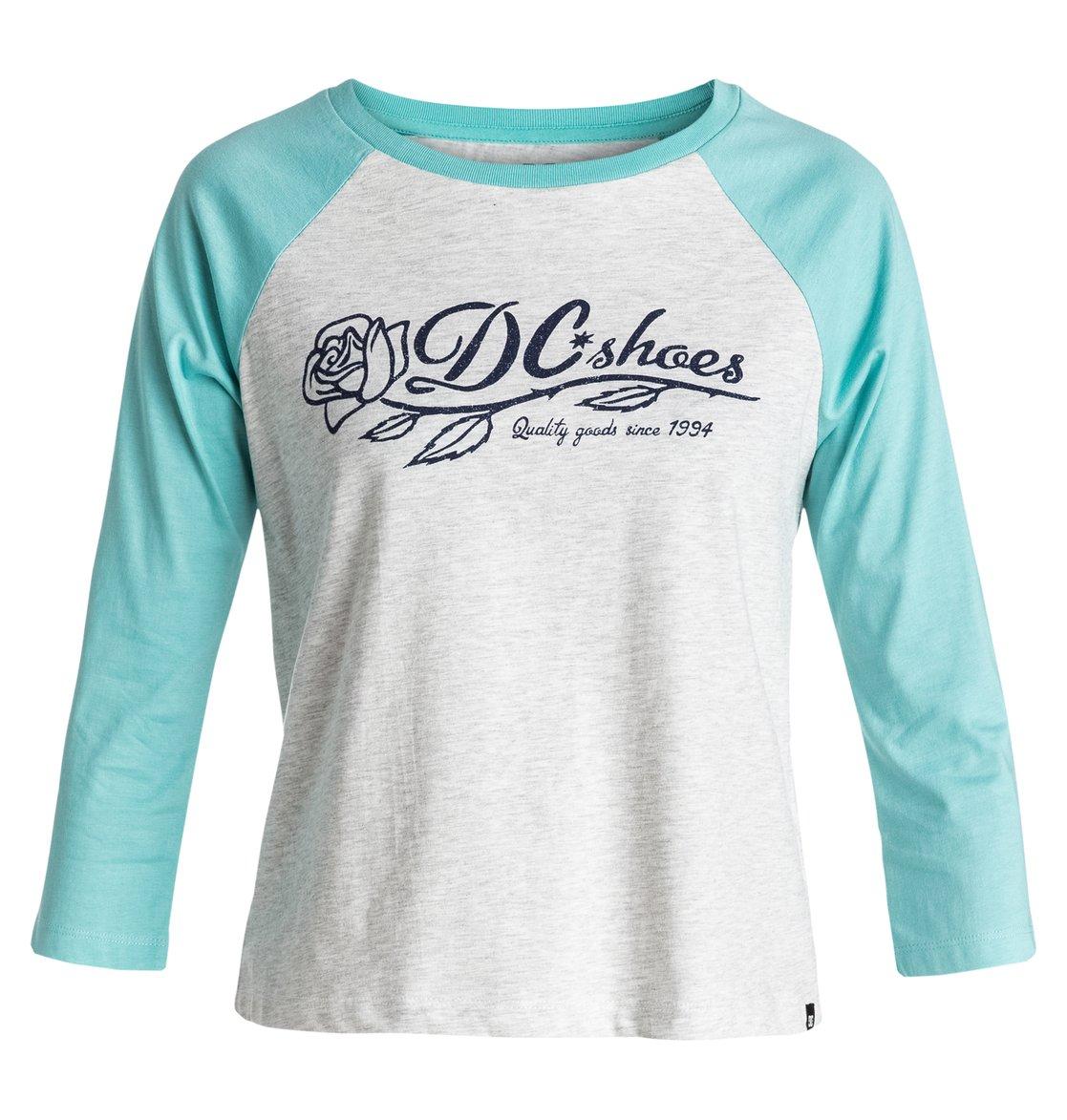 Обрезанная футболка T-Rose Raglan от DC Shoes