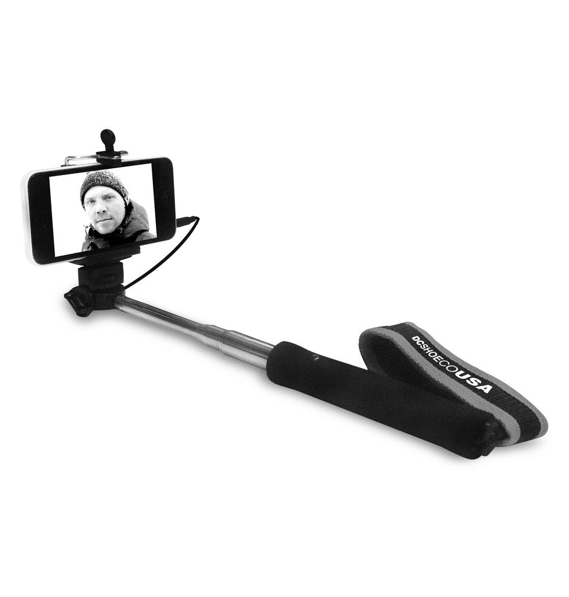 selfie dc shoes extendable selfie stick edyaa03069 dc shoes. Black Bedroom Furniture Sets. Home Design Ideas