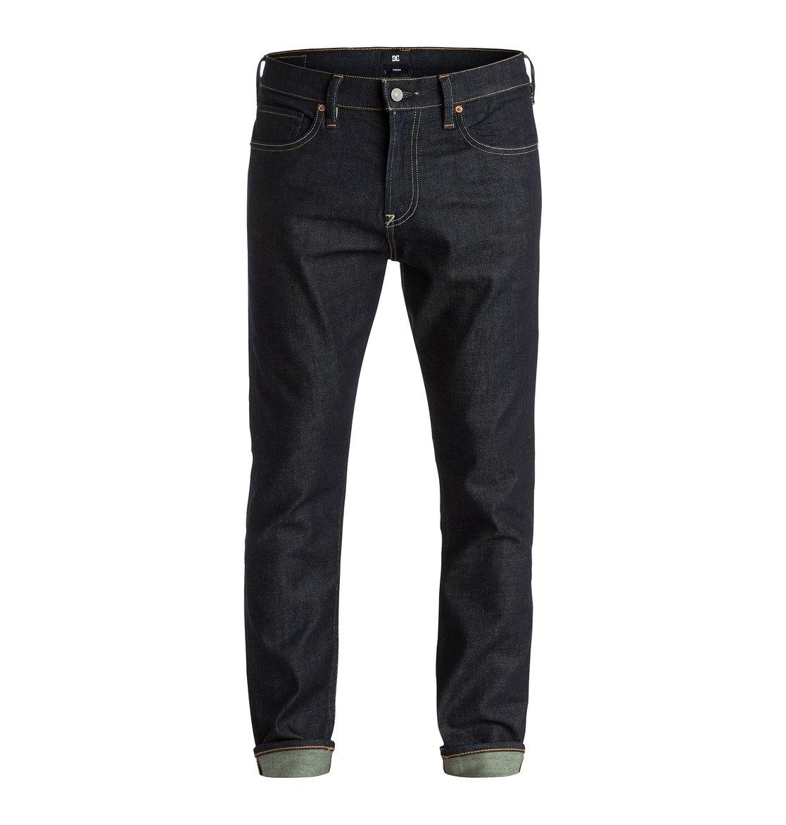 tapered fit 34 jeans edydp03156 dc shoes. Black Bedroom Furniture Sets. Home Design Ideas
