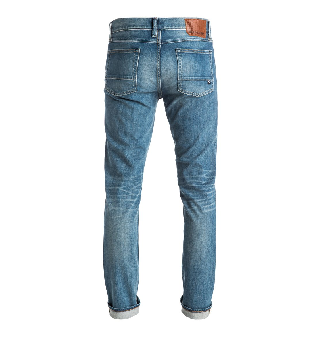 Jeans Size Charts: THIS is How Jeans Fit Perfectly! For Men & Women. For example, if you have a jeans size 36/32, the number 36 means that you have a waist width of 36 inches. The number 32 then corresponds to a leg length of 32 inches. 1 inch corresponds to cm.