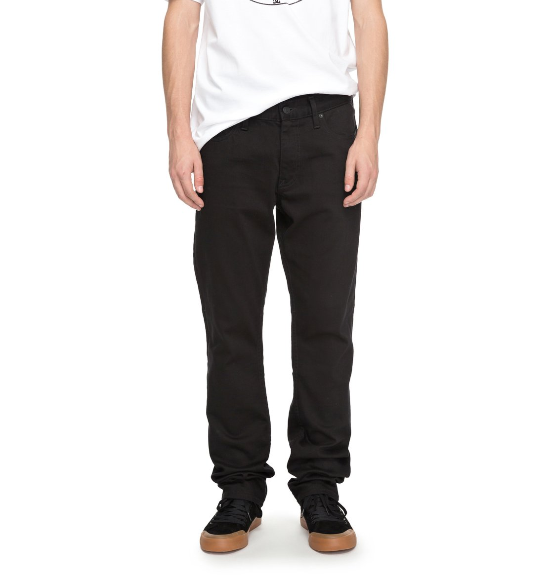 dc shoes Worker Black Rinse - Jeans Vestibilità Relaxed da Uomo - Black - DC Shoes