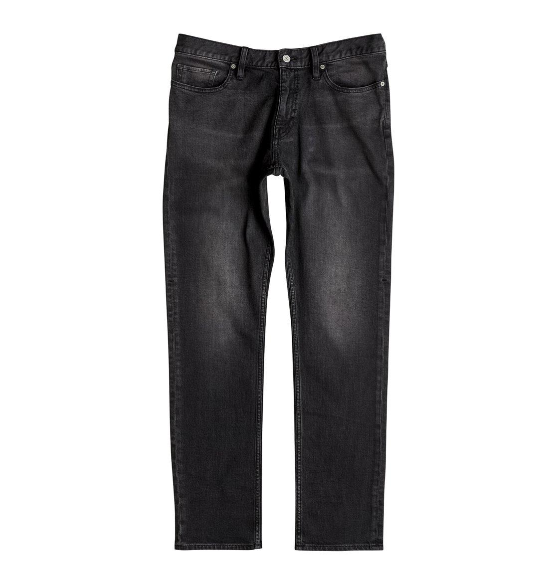 Прямые джинсы Worker Medium Grey Straight