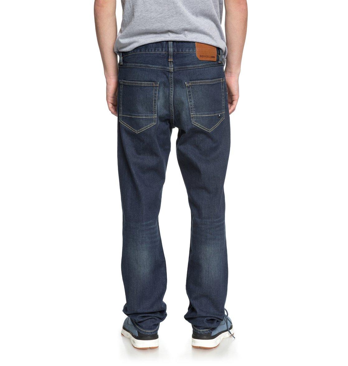 dc shoes Worker Medium Stone - Jeans Vestibilità Straight da Uomo - Blue - DC Shoes MC9YN