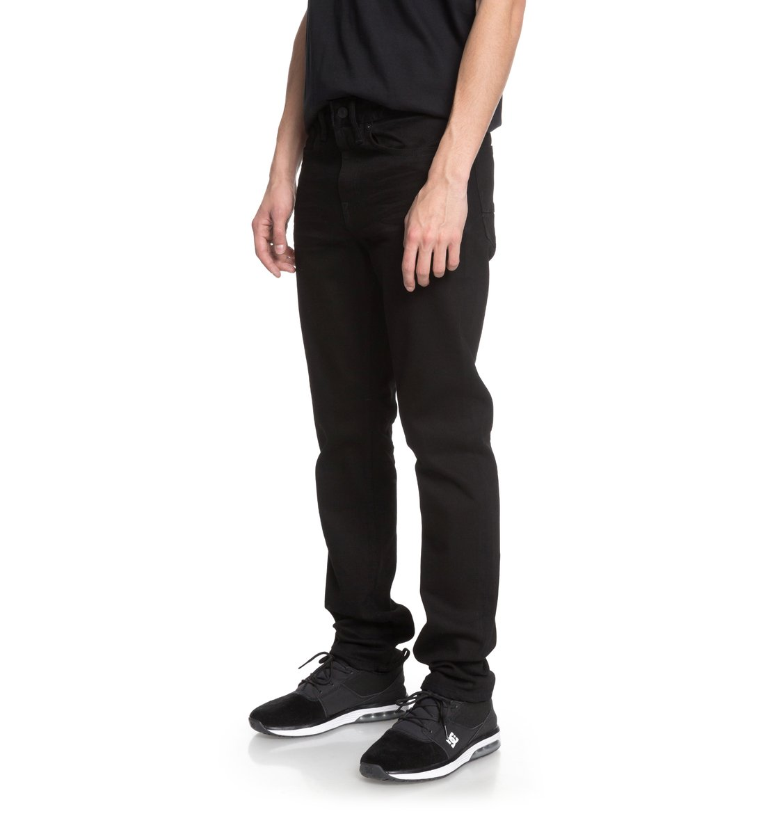 dc shoes Worker Black Rinse Slim - Jeans vestibilità slim da Uomo - Black - DC Shoes