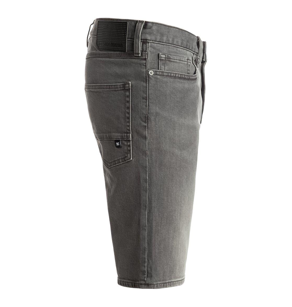 Washed Light Grey - Denim Shorts EDYDS03021 | DC Shoes