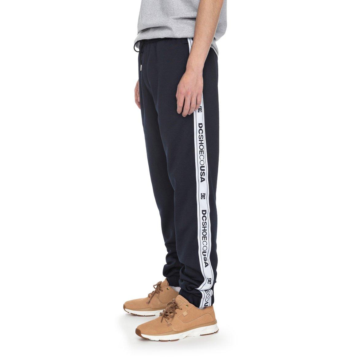 Burdons pantalon de jogging rayures lat rales edyfb03042 dc shoes - Pantalon bande laterale homme ...