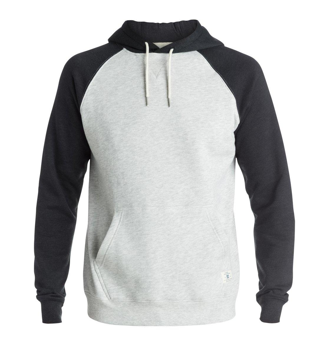 Dcshoes Мужской пуловер с капюшоном Rebel Raglan Rebel Raglan Pull Over Hoodie