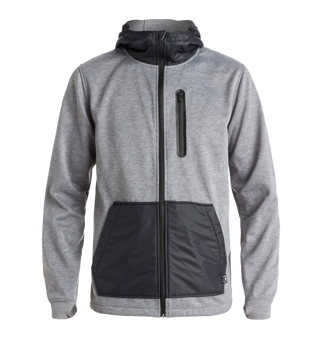 Men's United Zip Up Technical Hoodie EDYFT03228 | DC Shoes