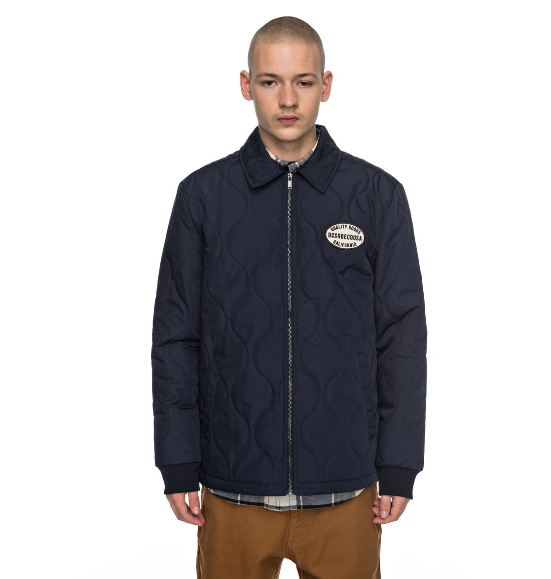 Men's Mossburn Quilted Coach Jacket EDYJK03129 | DC Shoes : coach quilted coat - Adamdwight.com