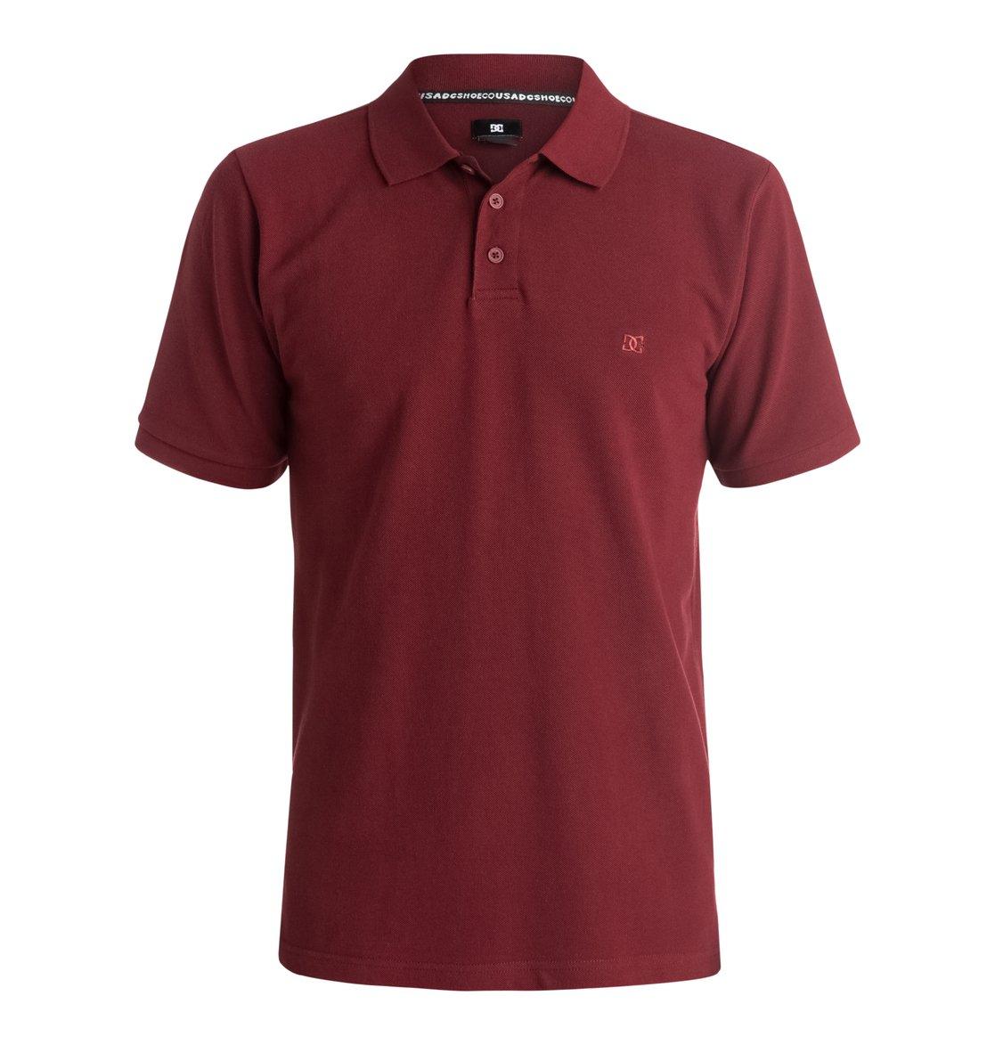 Holborn Polo ShirtМужская рубашка-поло Holborn от DC Shoes. <br>ХАРАКТЕРИСТИКИ: воротник в рубчик, пикейный хлопок стандартной плотности, застегивается на 3 пуговицы, тесьма «в елочку» в районе воротника сзади, вентиляция вдоль боков, заниженная линия подола сзади, ярлык с логотипом DC. <br>СОСТАВ: 100% хлопок.<br>