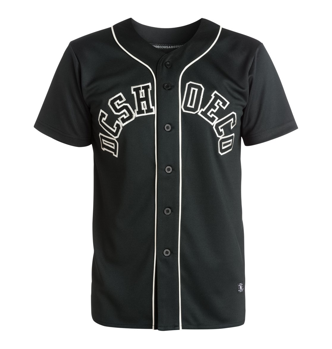 butner solid maillot de baseball edykt03156 dc shoes. Black Bedroom Furniture Sets. Home Design Ideas