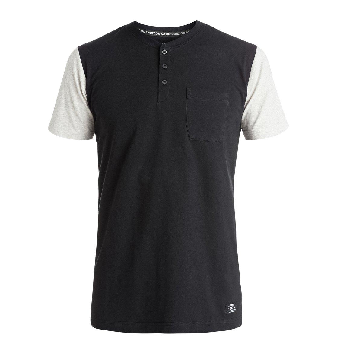 Willowbrook T-Shirt - DcshoesМужская футболка Willowbrook от DC Shoes. <br>ХАРАКТЕРИСТИКИ: мягкий трикотаж, классический дизайн Henley, воротник в бейсбольном стиле и в рубчик и нагрудный карман, тело и рукава контрастного цвета. <br>СОСТАВ: 100% хлопок.<br>