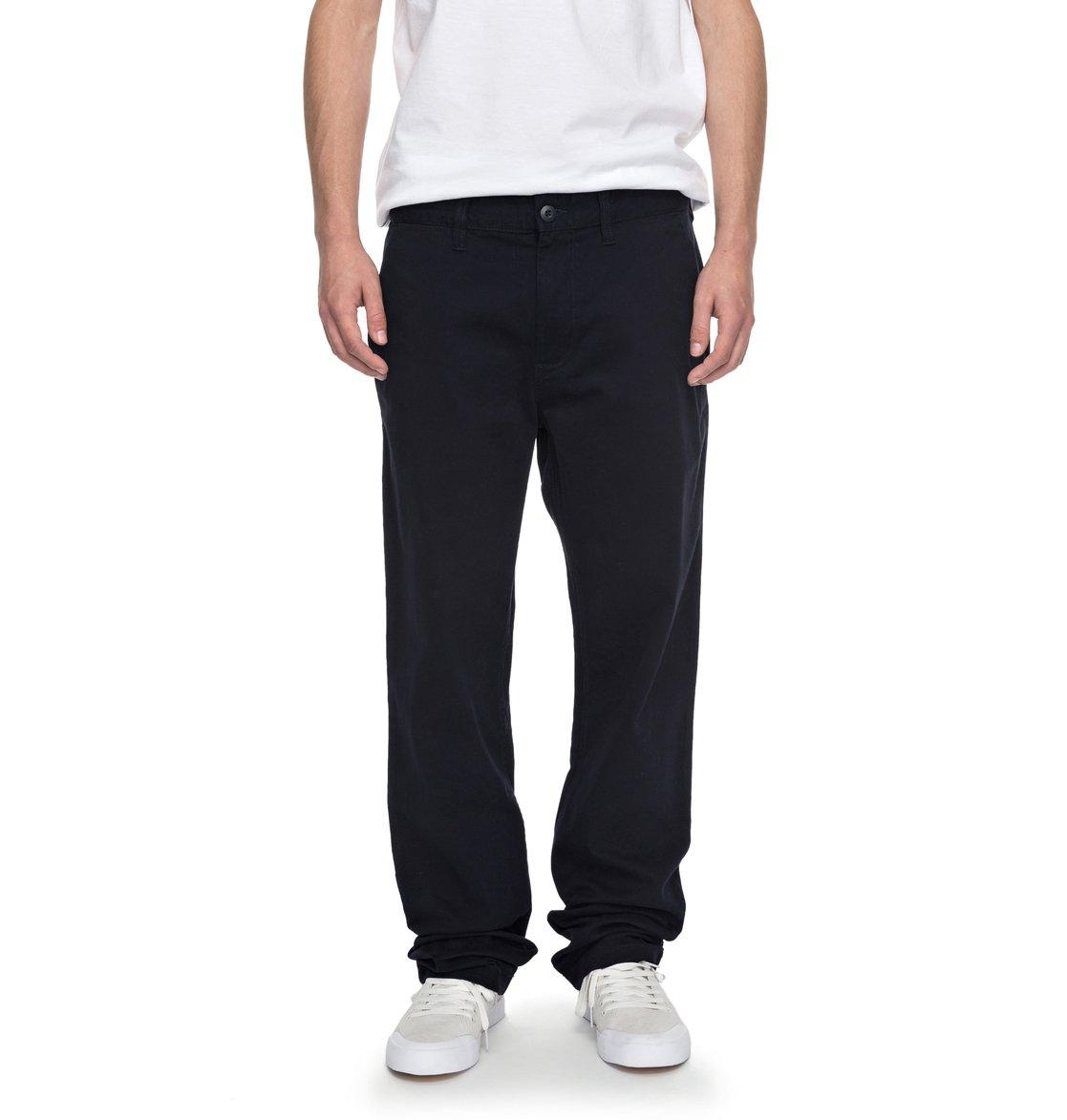 dc shoes Worker 32 - Pantaloni Chino da Uomo - Blue - DC Shoes