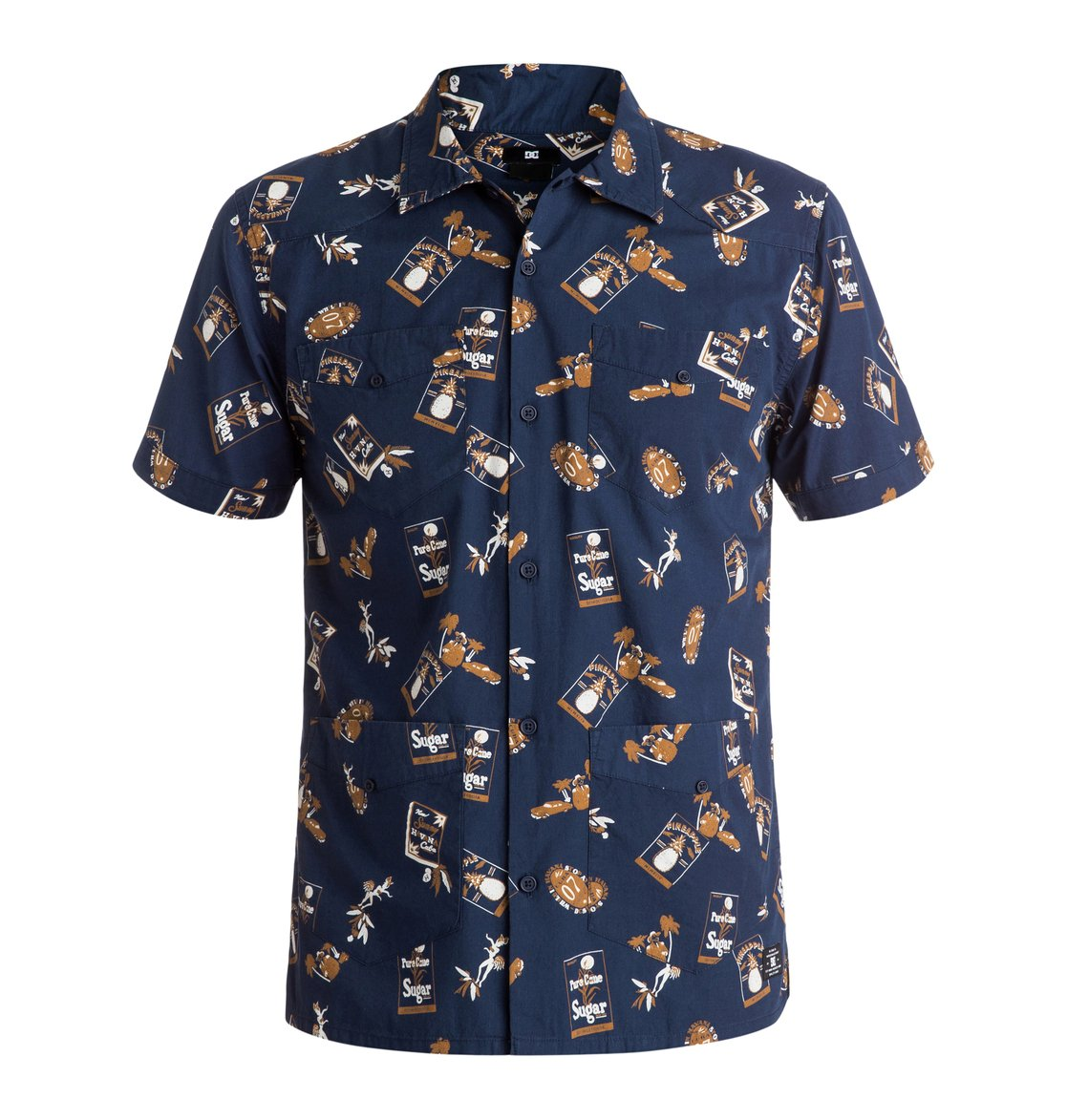 Guayabera Print - Short Sleeve Shirt Dcshoes