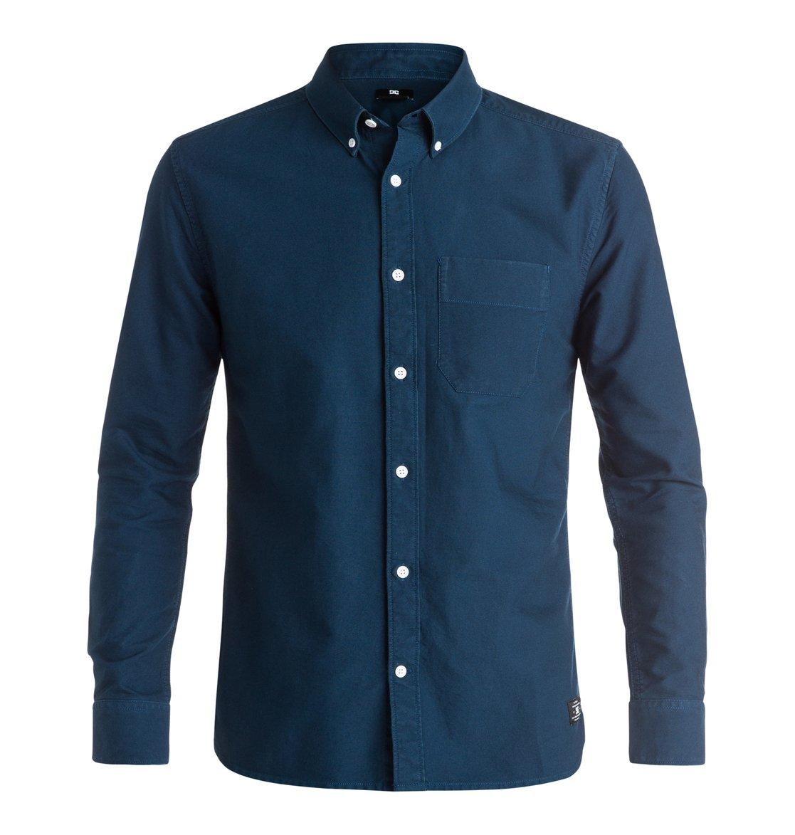 Рубашка Oxford с длинным рукавом