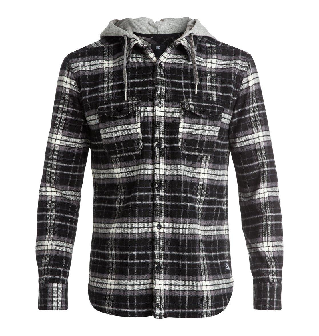 Men's Runnels Flannel Hooded Long Sleeve Shirt EDYWT03111 | DC Shoes
