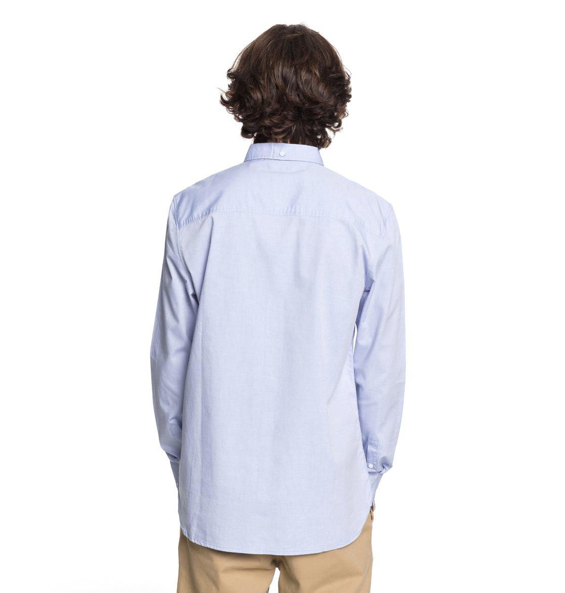 Men's Classic Oxford Light Long Sleeve Shirt EDYWT03183   DC Shoes