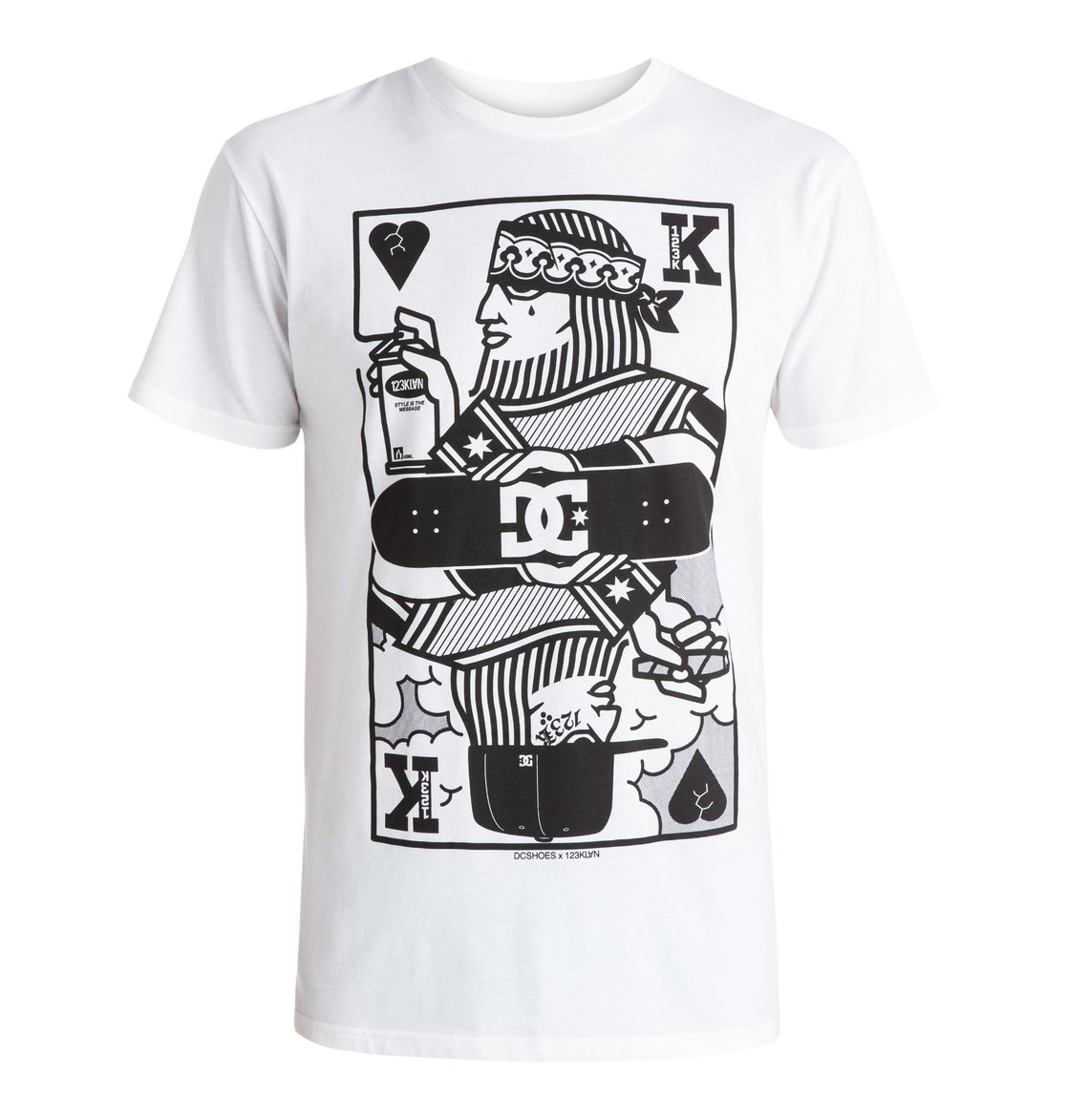 123 Kingcard T-Shirt от DC Shoes