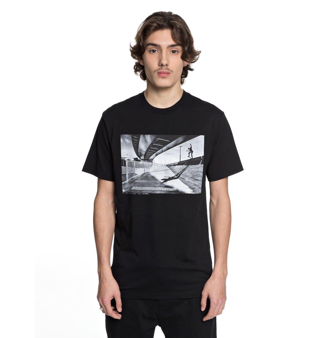 dc shoes Wes Switch Blunt - Maglietta da Uomo - Black - DC Shoes