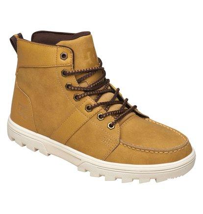 WoodlandМужские ботинки Woodland от DC Shoes.ХАРАКТЕРИСТИКИ: обеспечивают полноценное тепло и комфорт, замшевый верх, подкладка из шерпы, необычные отверстия для шнуровки, удобные язык и лодыжка с пенным наполнителем, грубая подошва.СОСТАВ: ВЕРХ: кожа / ПОДКЛАДКА: текстиль / ПОДОШВА: каучук.<br>