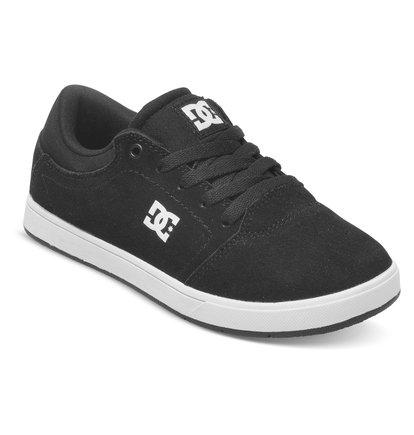 CrisisНизкие кеды для мальчиков Crisis от DC Shoes – новинка из коллекции «Лето 2015». Характеристики: прочный замшевый верх, минималистичный нос, выпуклый трафаретный логотип.<br>