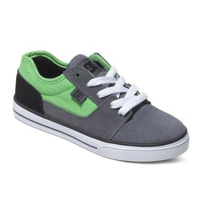TonikНизкие кеды для мальчиков Tonik от DC Shoes – новинка из коллекции «Лето 2015». Характеристики: вулканизированная конструкция, износостойкая каучуковая подошва, фирменный рисунок протектора подошвы DC Pill Pattern.<br>