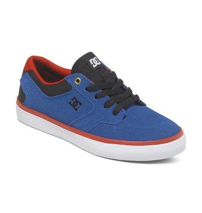 Argosy Vulc Low Top ShoesНизкие кеды для мальчиков Argosy Vulc от DC Shoes.ХАРАКТЕРИСТИКИ: прочный замшевый верх, минималистичный нос и декоративная строчка, воздухообмен за счет перфораций, превосходная колодка.СОСТАВ: замшевый верх.<br>
