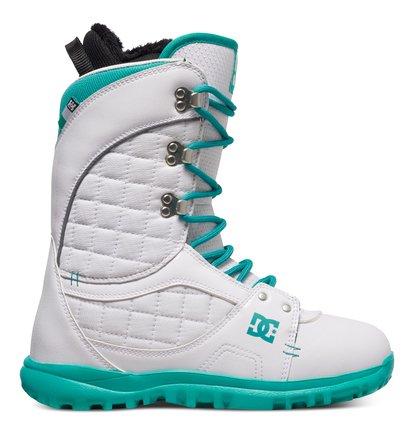 Купить Сноубордические ботинки Karma - Белый, DC Shoes, Верх — синтетика; подкладка — текстиль; подошва — полимер EVA