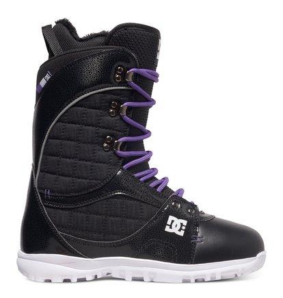 Купить Сноубордические ботинки Karma - Черный, DC Shoes, Верх — синтетика; подкладка — текстиль; подошва — полимер EVA
