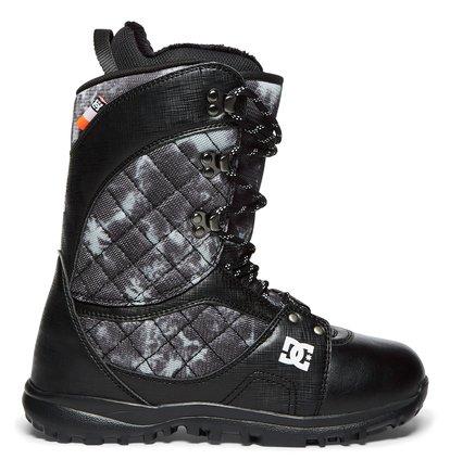 Купить Сноубордические ботинки Karma - Черный, DC Shoes, Верх — синтетика / Подкладка — текстиль / Подошва — полимер EVA
