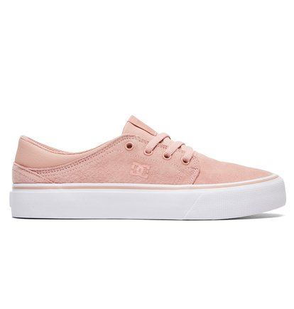 Trase LE - Chaussures en cuir pour Femme - Orange - DC Shoes