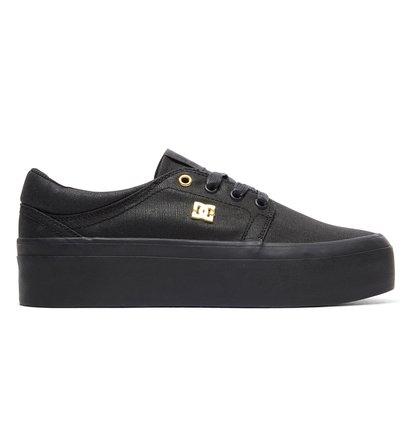 Купить Женские кеды Trase Platform TX SE - Черный, DC Shoes