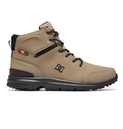 Купить Ботинки Torstein - Коричневый, DC Shoes, ВЕРХ — кожа, ПОДКЛАДКА — текстиль, ПОДОШВА — каучук