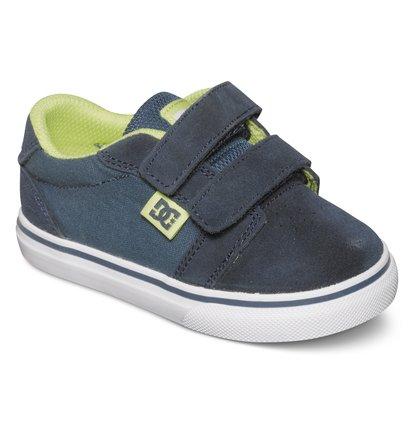 Toddler Anvil V Low Top ShoesМы с гордостью представляем кеды Anvil V от DC Shoes! Выполненные из сверхпрочной замши Super Suede, эти низкие кеды для малышей являются прекрасным дополнением нашей новой коллекции.ХАРАКТЕРИСТИКИ: перфорация – залог хорошего воздухообмена, вулканизированная конструкция для превосходного контроля доски.<br>