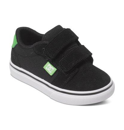 Toddler Anvil V Low Top ShoesМы с гордостью представляем кеды Anvil V от DC Shoes! Выполненные из сверхпрочной замши Super Suede, эти низкие кеды для малышей являются прекрасным дополнением нашей новой коллекции. <br>ХАРАКТЕРИСТИКИ: перфорация – залог хорошего воздухообмена, вулканизированная конструкция для превосходного контроля доски.<br>
