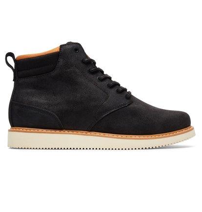 Купить Ботинки Mason - Черный, DC Shoes, ВЕРХ — кожа, ПОДКЛАДКА — текстиль, ПОДОШВА — каучук