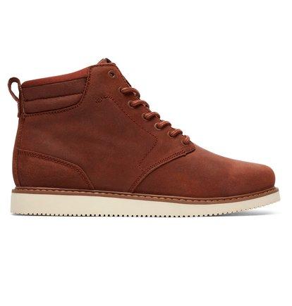 Купить Ботинки Mason - Коричневый, DC Shoes, ВЕРХ — кожа, ПОДКЛАДКА — текстиль, ПОДОШВА — каучук