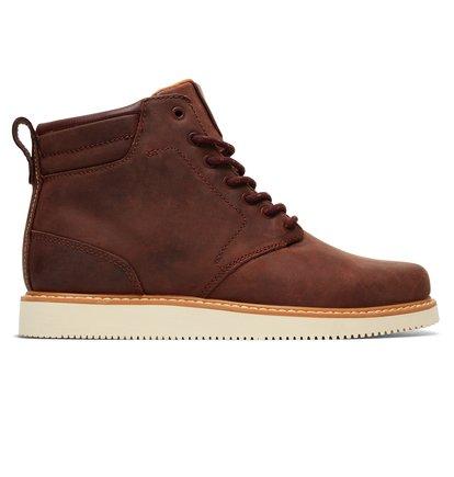 Купить Ботинки Mason LX - Коричневый, DC Shoes, ВЕРХ — кожа, ПОДКЛАДКА — текстиль, ПОДОШВА — каучук