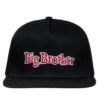 Dcshoes Мужская бейсболка Big Brother с традиционной регулировкой размера snapback Big Brother Snapback Hat