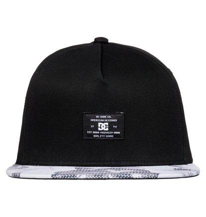 Dcshoes Мужская бейсболка Foregore с традиционной регулировкой размера snapback Foregore Snapback Hat