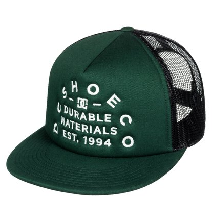 Time Flosser - Casquette trucker - Vert - DC Shoes
