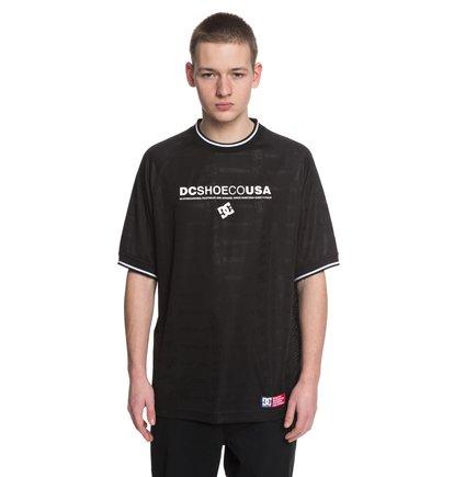 Купить Футболка Wes Soccer Jersey - Черный, DC Shoes, 100% полиэстер